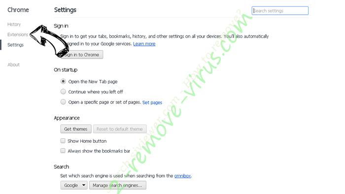 Rockstartpush.net Chrome settings