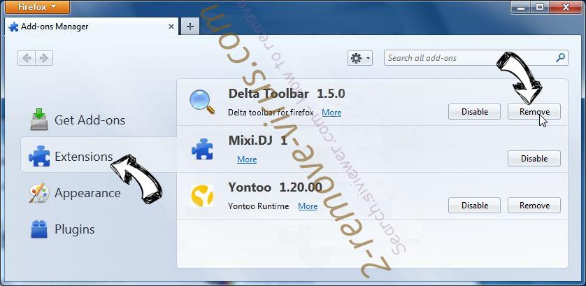 Rockstartpush.net Firefox extensions
