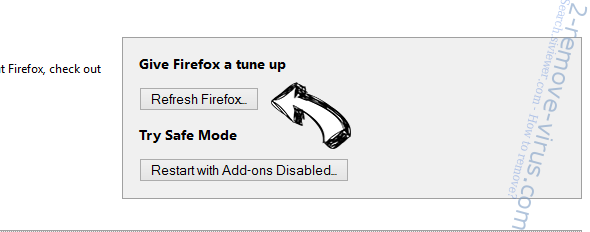 Rockstartpush.net Firefox reset