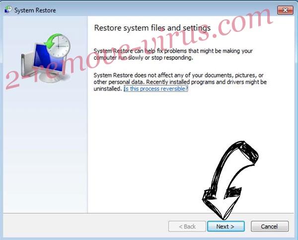 Get rid of Ielock ransomware - restore init
