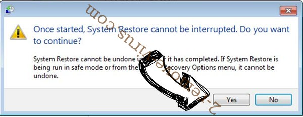 .bdev Files Ransomware removal - restore message