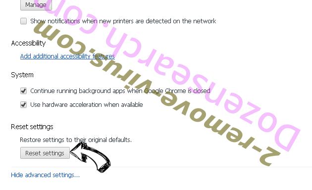DigitalPDFConverterSearch Chrome advanced menu
