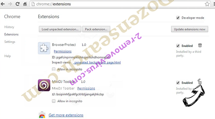 DigitalPDFConverterSearch Chrome extensions remove