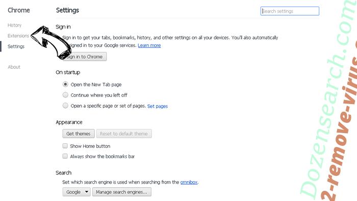 DigitalPDFConverterSearch Chrome settings