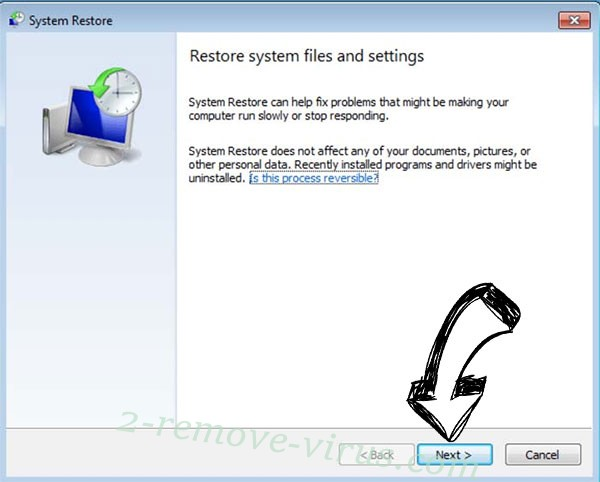 Get rid of Pcqq ransomware - restore init