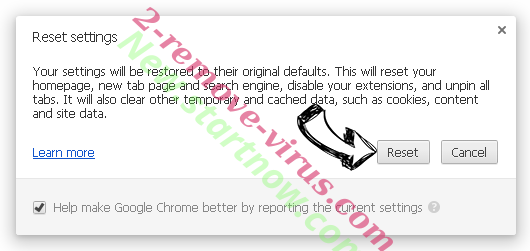 Streamonsport.info Chrome reset