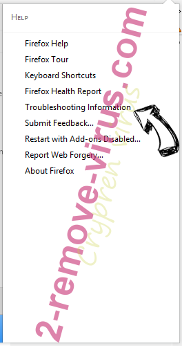 Search.searchffn.com Firefox troubleshooting