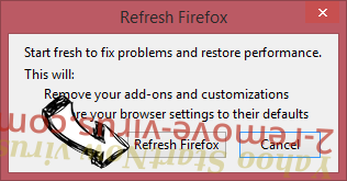 Goliath virus Firefox reset confirm