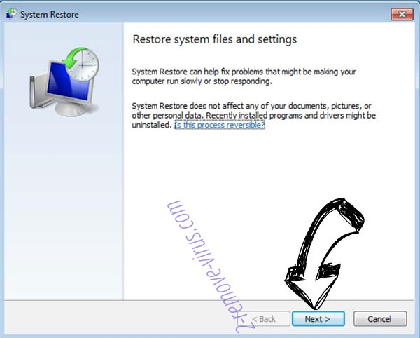Get rid of Findnotefile ransomware - restore init