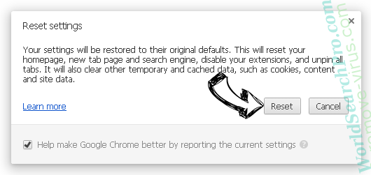 Mywebtopic.com Chrome reset