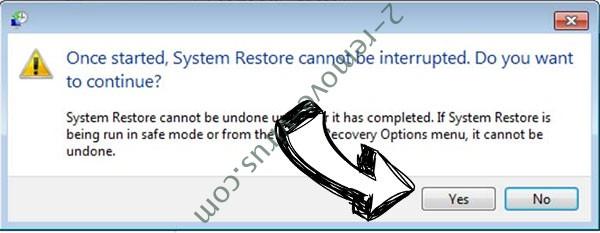 Ehiz Files Locker removal - restore message