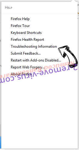 Search.bakinu.com Firefox troubleshooting