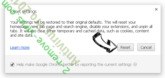 Websearch.search-mania.info Chrome reset