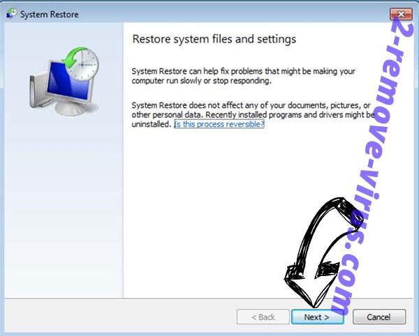 Get rid of Ehiz Ransomware - restore init