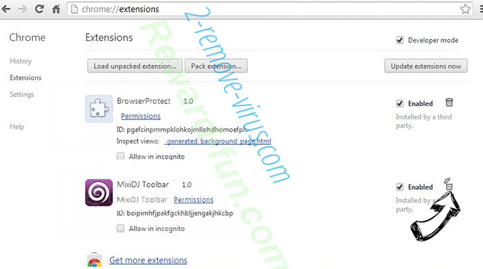 Search.hfreetestnow.app Chrome extensions remove
