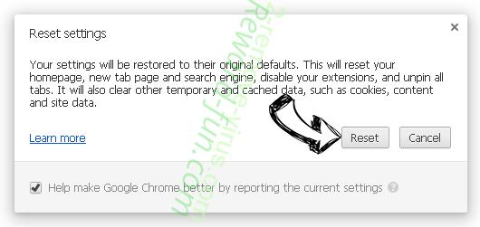 Search.hfreetestnow.app Chrome reset