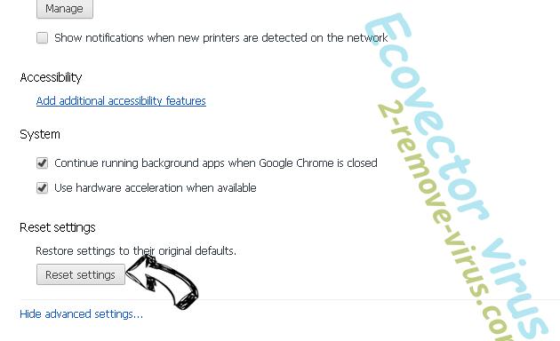 Getcode.biz Chrome advanced menu