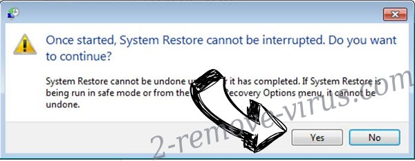 FRM ransomware removal - restore message