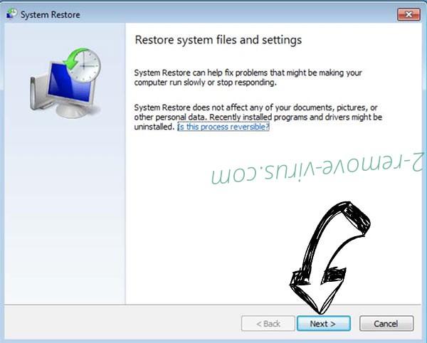Get rid of .MMTA Files Ransomware - restore init