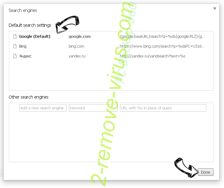Search.gamesearcher.pro Chrome extensions disable