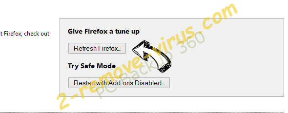 Search.gamesearcher.pro Firefox reset