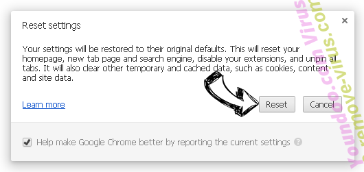 Ponugraduatio.biz Chrome reset