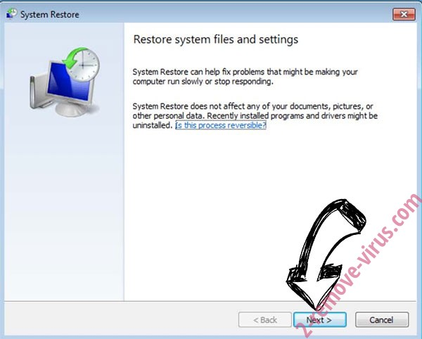 Get rid of Chaos Ransomware - restore init