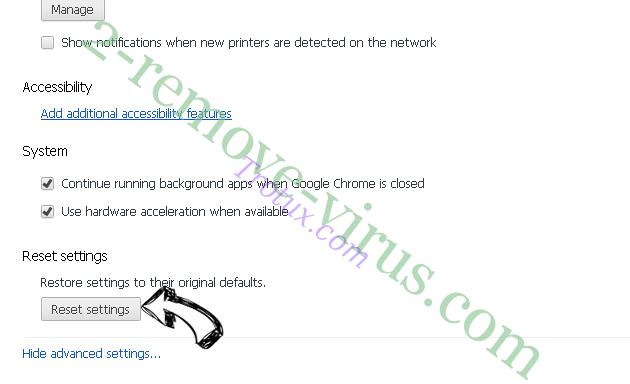 Trotux.com Chrome advanced menu
