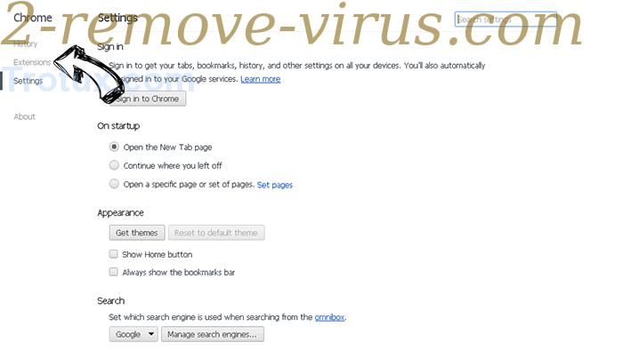 Trotux.com Chrome settings