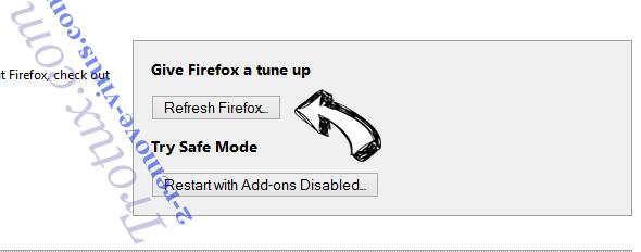 Trotux.com Firefox reset