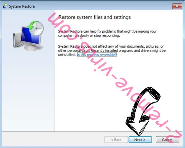 Get rid of day Ransomware - restore init