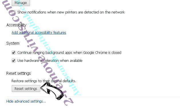 Rogue Chromium Browsers Chrome advanced menu