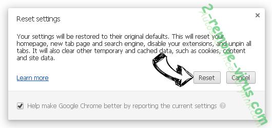 Rogue Chromium Browsers Chrome reset