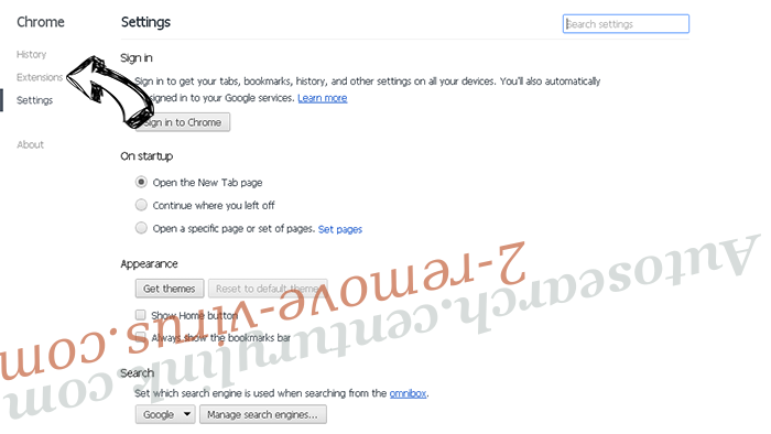 Rogue Chromium Browsers Chrome settings
