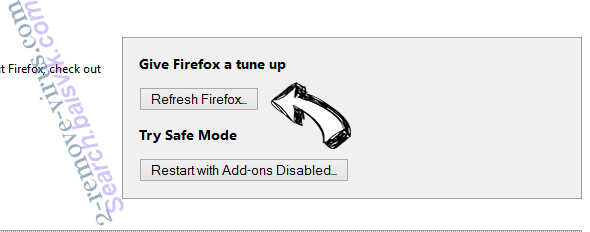Websterd.online pop-up ads Firefox reset