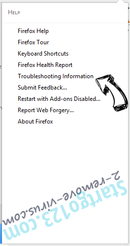 Search-7.com Firefox troubleshooting
