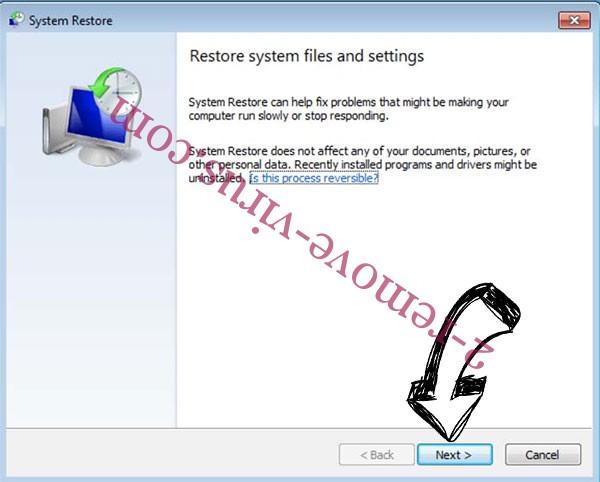 Get rid of Piiq Virus - restore init