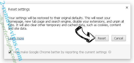 productlocator.xyz Chrome reset