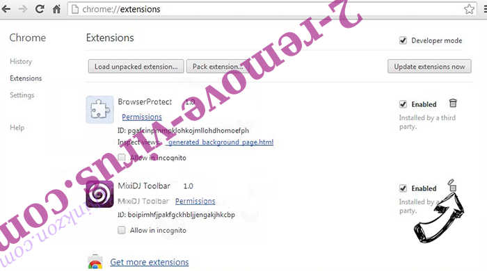 Product Locator Chrome extensions remove