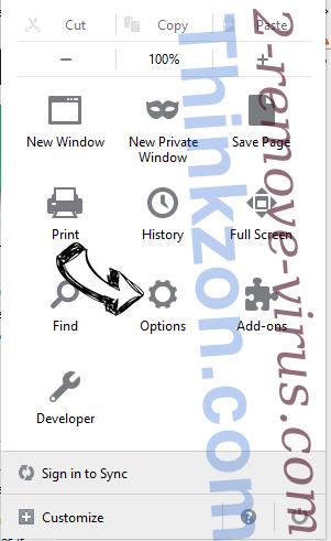 Product Locator Firefox reset confirm