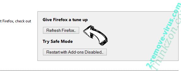 Product Locator Firefox reset