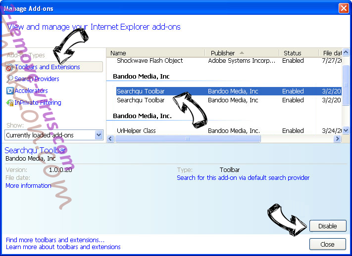 Product Locator IE toolbars and extensions