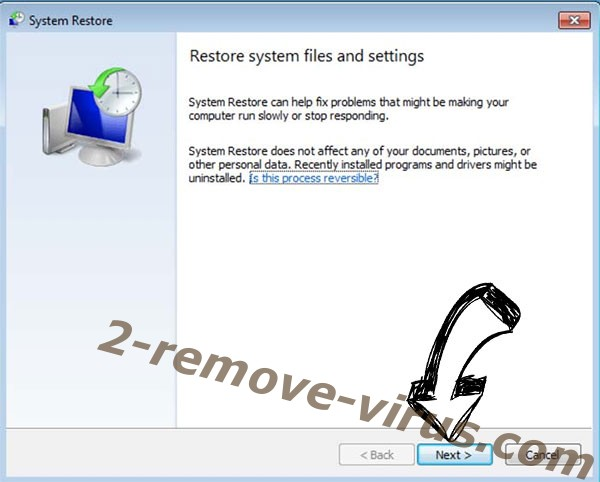Get rid of .Zzla file ransomware - restore init