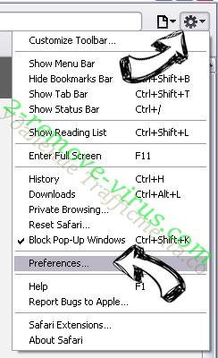 MergeDocsNow Toolbar Safari menu