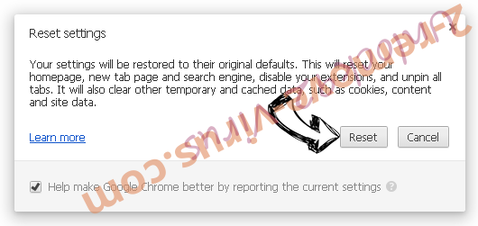 Y2search.com Chrome reset