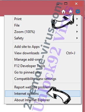 Y2search.com IE options