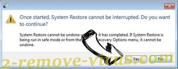 .Wwka file Ransomware removal - restore message