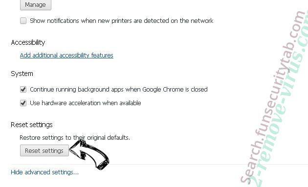 Mr Beast Giveaway POP-UP Scam Chrome advanced menu