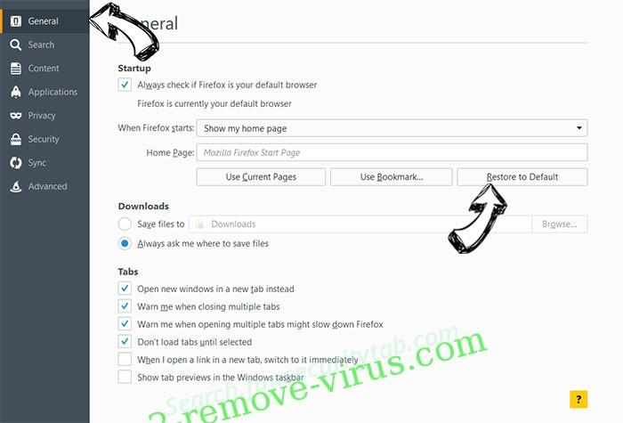 Mr Beast Giveaway POP-UP Scam Firefox reset confirm