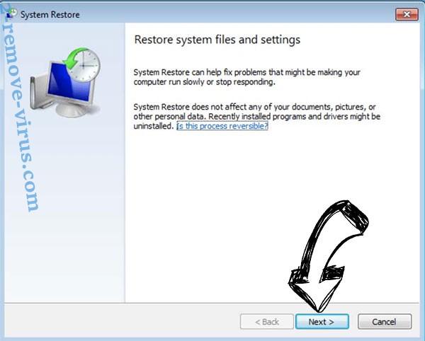 Get rid of Gujd virus - restore init